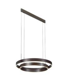 מנורת תליה טבעת כפולה.