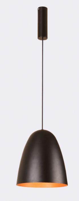 מנורת תליה קונוס מתכת.