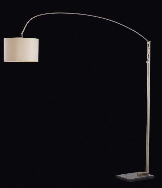 מנורת עמידה מתכוננת עם אהיל