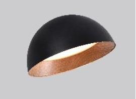 פלפון קעור שחור עץ נטוי