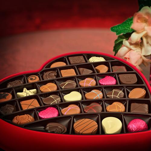 מסגרת תמונה משוקולד