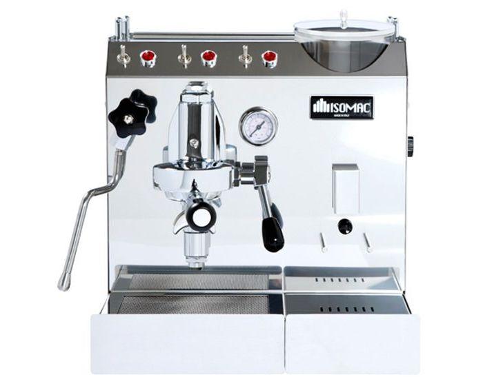 מכונת קפה מקצועית עם מטחנה Isomac Zaffiro Bis + ערכת מתנות