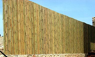"""גדר במבוק מושחל 14-16 מ""""מ"""