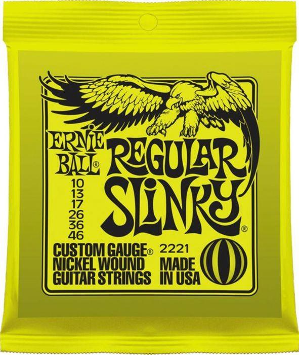 Ernie Ball 2221 Nickel Wound Regular Slinky 0.010