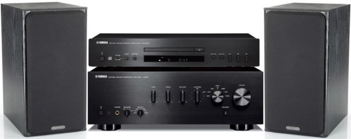 מערכת סטריאו  Yamaha AS301+Yamaha CDS300+Monitor Audio MR1