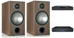 מערכת סטריאו Cambridge 351A+Cambridge 351C+Monitor Audio Bronze2