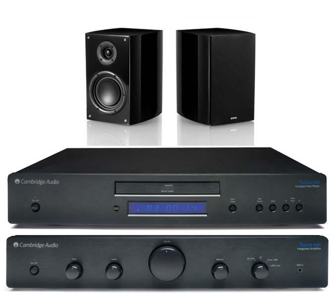 מערכת סטריאו Cambridge 351A+Cambridge CD10+Wharfedale D121