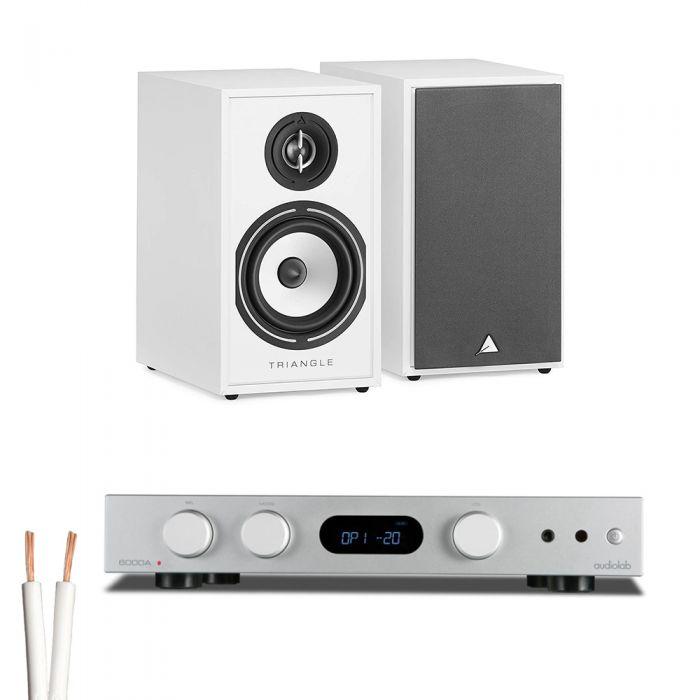 מערכת סטריאו AudioLab 6000a Play+Triangle Borea02