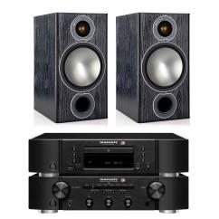 מערכת סטריאו Marantz PM5005+Marantz CD5005+Monitor Audio BRONZE2
