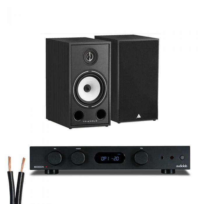 מערכת סטריאו AudioLab 6000A Play+Triangle Borea03