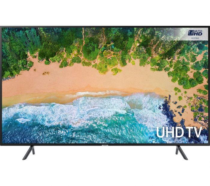 טלויזיה Samsung  4K-UHD UE55NU7100