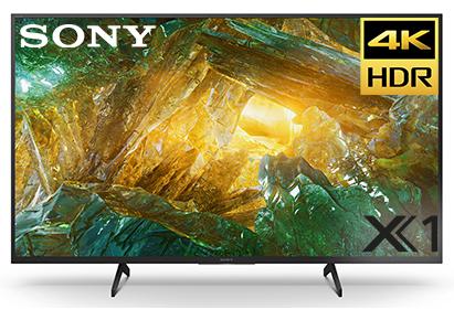"""טלויזיה """"55 Sony 4K-UHD KD75XH8096"""