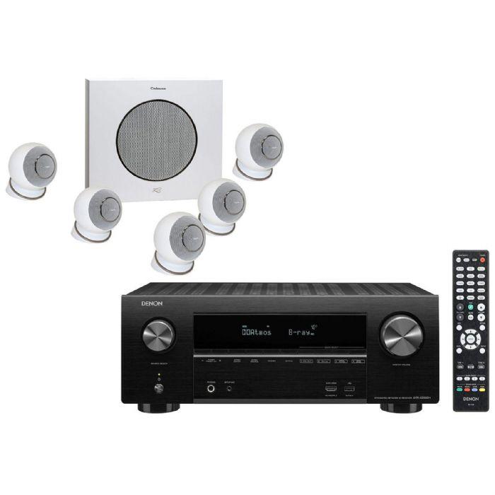 קולנוע ביתי Denon AVR-S750+Cabasse Eyole 4 Set
