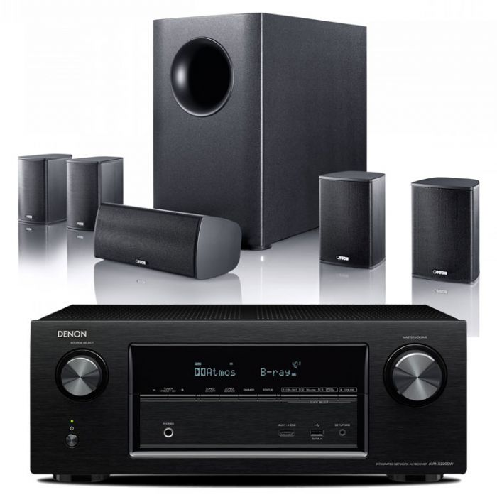 קולנוע ביתי Denon AVRX550+Canton Movie95cx