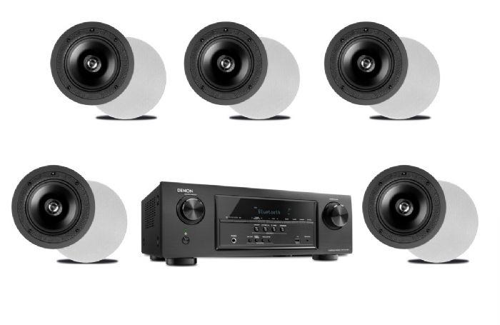 קולנוע ביתי Denon AVRX550+Paradigm C65R 5.1 SET