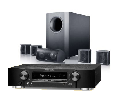 קולנוע ביתי Marantz NR1609+Canton Movie 135