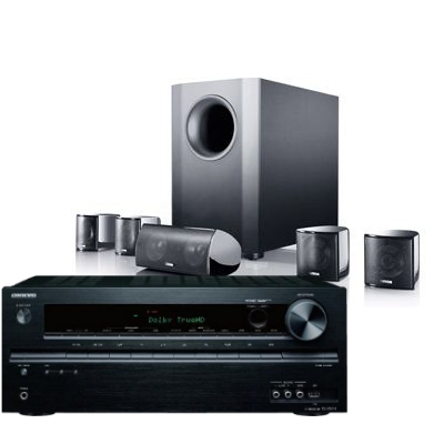 קולנוע ביתי Onkyo SR686+Canton Movie95