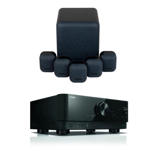 קולנוע ביתי Yamaha RX-V4A+Monitor Audio Mass5.1 set