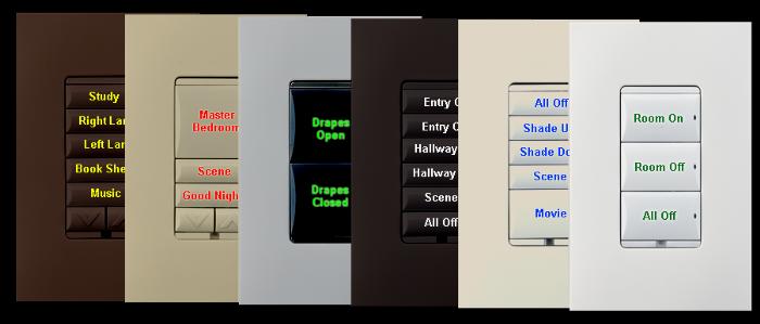 לוח מקשים Control4 KC240