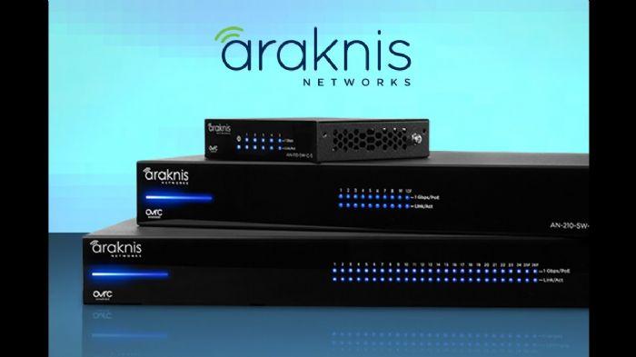 מפצל רשת מנוהל Araknis AN210-SW-R-24-POE