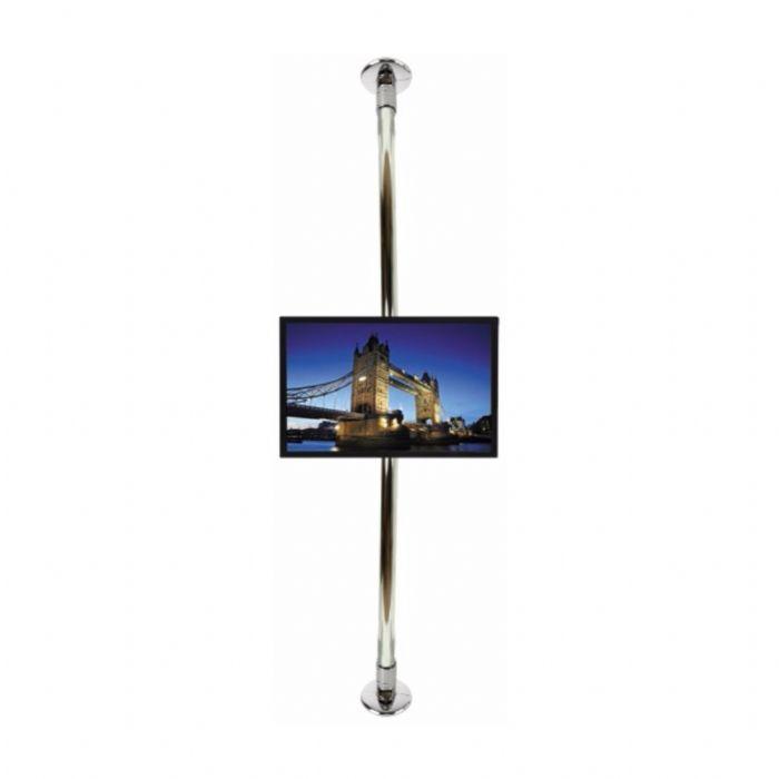 מעמד לטלויזיה רצפה- תקרה 3.25 מטר בעל אפשרות צידוד BT7850-325CS