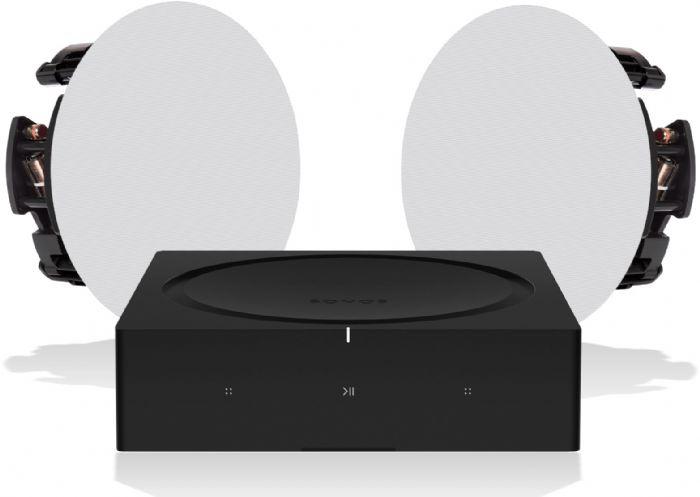 מערכת סטריאו Sonos Amp+Paradigm C65R