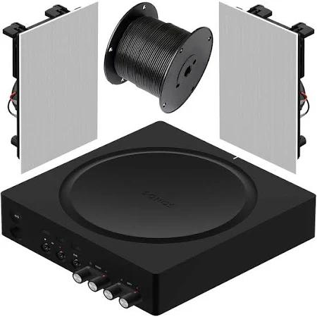 מערכת סטריאו Sonos Amp+Paradigm C65IW
