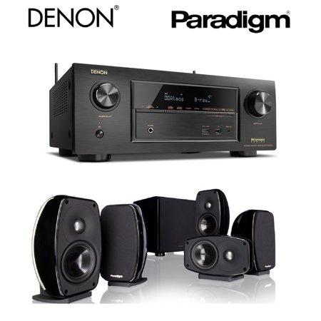 קולנוע ביתי Denon AVR-S650+Paradigm Cinema100CTH+SUB