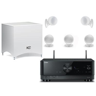 קולנוע ביתי Yamaha RX-V4A+Cabasse Alcyone 2 set