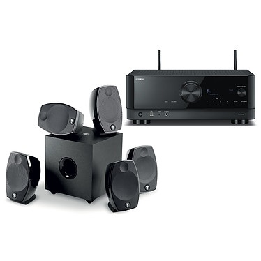 קולנוע ביתי Yamaha RX-V6A+Focal Sib Evo 5.1