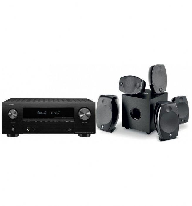 קולנוע ביתי Denon AVR-S750+Focal Sib Evo 5.1