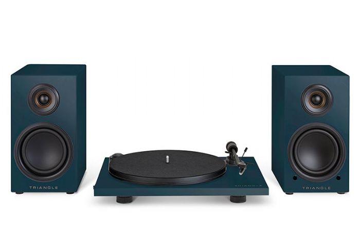 מערכת סטריאו Triangle LN01A Turntable & Wireless Speaker