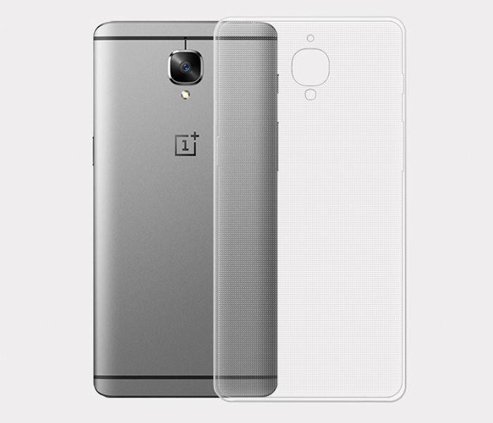 כיסוי שקוף תואם OnePlus 3
