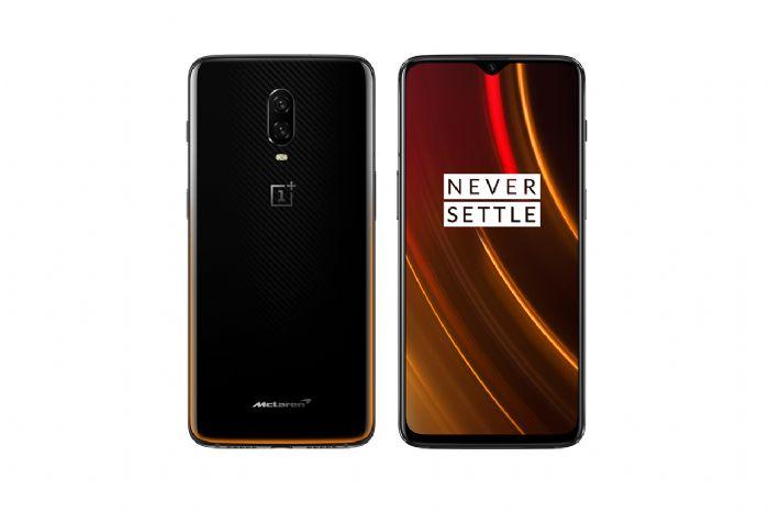 מהדורה מוגבלת טלפון סלולרי OnePlus 6T 256GB 10GB RAM McLaren Edition וואן פלוס