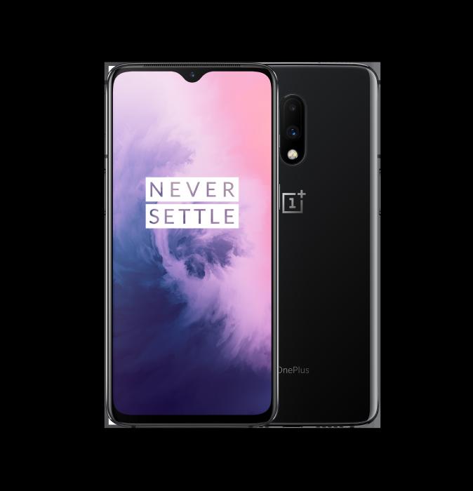 טלפון סלולרי OnePlus 7 256GB 8GB RAM Mirror Grey וואן פלוס