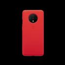 כיסוי סיליקון אדום מקורי OnePlus 7T