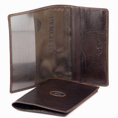 כיסוי עור לדרכון טוני פרוטי חום