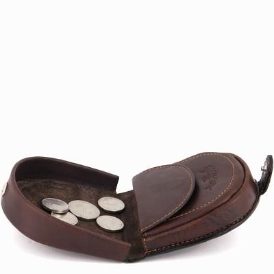 ארנקון עור מטבעות דגם פרסה