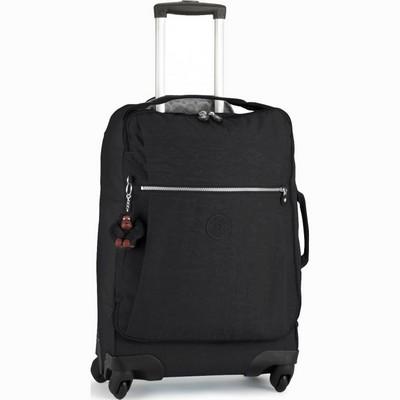 מזוודה עליה למטוס 4 גלגלים קיפלינג דרסי שחור