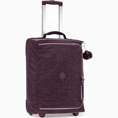 מזוודה עליה למטוס קלה במיוחד קיפלינג טיגאן קטן סגול