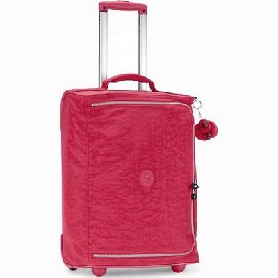 מזוודה עליה למטוס קלה במיוחד קיפלינג טיגאן קטן תות שדה קר