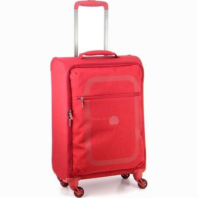 מזוודה קלה עליה למטוס דלסי 55 דופין אדום
