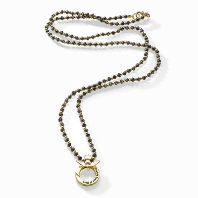 שרשרת אופנה סאשה גלס המטיט זהב