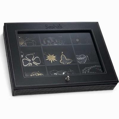 קופסאות לתכשיטים תיבה מושלמת לתכשיטים מבית סאשה שחור
