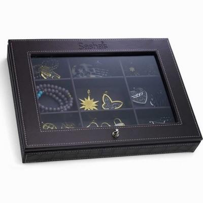 קופסאות לתכשיטים תיבה מושלמת לתכשיטים מבית סאשה חום