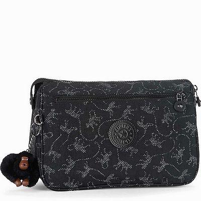 תיק כלי רחצה קיפלינג פאפי קופים שחור כסף