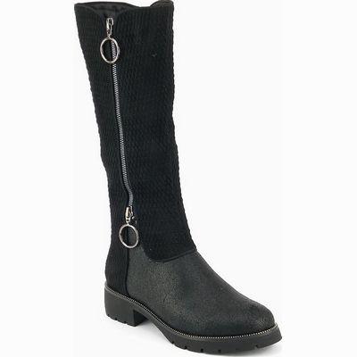מגפיים לנשים גויה מגף פרנק שחור