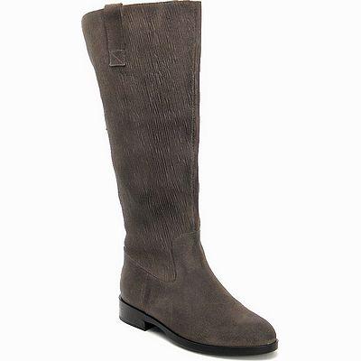 מגפיים לנשים גויה מגף פסים אפור