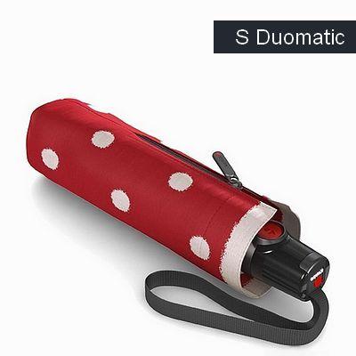 מטריות קנירפס מטרייה בינונית קטנה פתיחה סגירה אוטו' אדום מנוקד