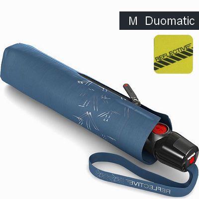 מטריות קנירפס מטרייה בינונית פתיחה וסגירה אוטומטית רפלקטור כחול